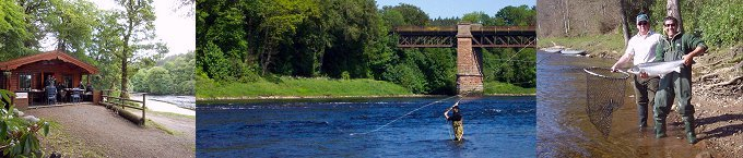 Salmon Fishing in Scotland - Salmon fishing guides.