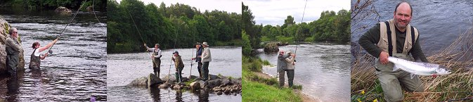Salmon Fishing in Scotland - Speycasting Lessons.